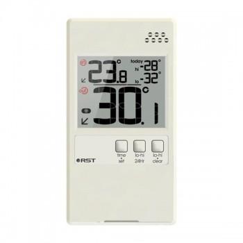 """Оконный термометр RST 01591, дом/улица, цвет """"слоновая кость"""""""