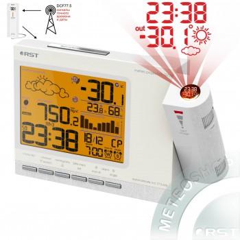 Проекционная метеостанция RST 32774 с дистанционным терморадиодатчиком