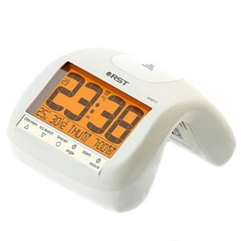 """Радиоконтролируемые часы с будильником RST 88111, цвет """"слоновая кость"""""""