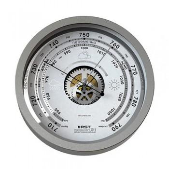 Барометр RST 07821 Meteo ctrl 21. Нержавейка, диаметр 208 мм, глубина 41 мм