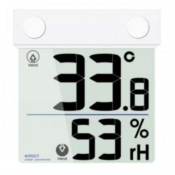 Оконный термогигрометр RST 01378 на солнечной батарее