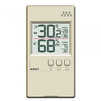 Цифровой термогигрометр RST 01594, шампань