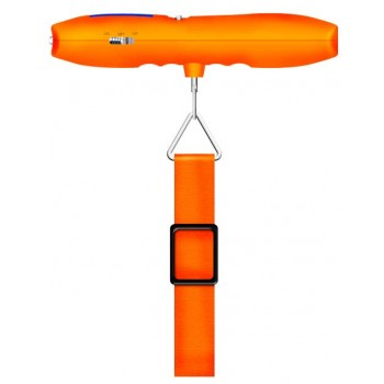 Цифровой безмен с рулеткой и LED фонарем, до 40 кг RST 08085