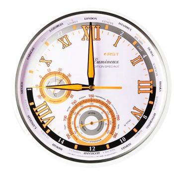 Часы настенные, метеостанция RST 77743 (часы, барометр, термометр)