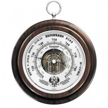 "Барометр ""Классика"" Погодник RST 05235, цвет серебро, диаметр 170 мм"