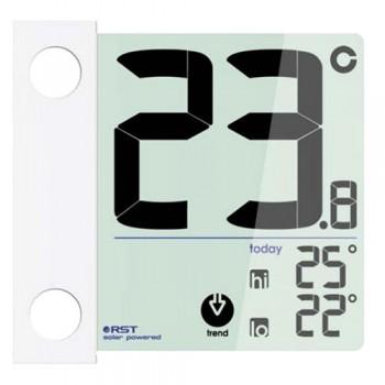 Оконный термометр RST 01391 на солнечной батарее