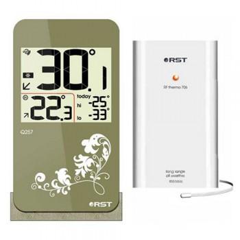 Цифровой термометр RST 02257 с радиодатчиком