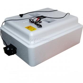 Инкубатор на 77 яиц 220/12В с регулировкой влажности, вентиляцией (артикул 67вг)