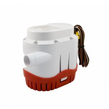 Насос трюмный погружной Vodotok WWB-1500 Auto, (12/24В, 95л/мин, H-4м, вып.отв. 29мм, кабель 0.75м).