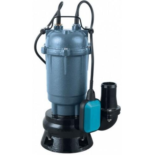 Насос фекальный (крыльчатка из стали) Vodotok WQD550F, (550Вт, 250 л/мин, H-10м, d вых.отв.50мм, кабель 8м).