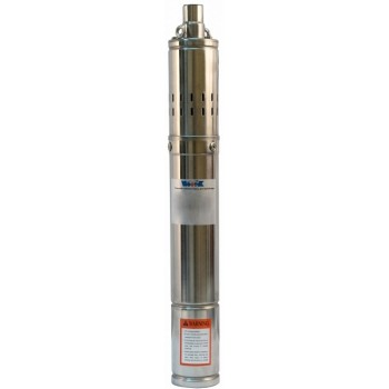 """Насос погруж. винтовой Vodotok 3QGD 1.5-72-0.37, (d-75мм, 370Вт, 25 л/мин, H-72м, d отв.1"""", кабель 12м, примеси до 0,25%)"""