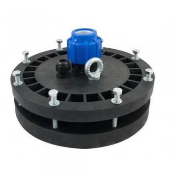Оголовок герметичный скважинный ОГС 125-165/25 с проходной муфтой