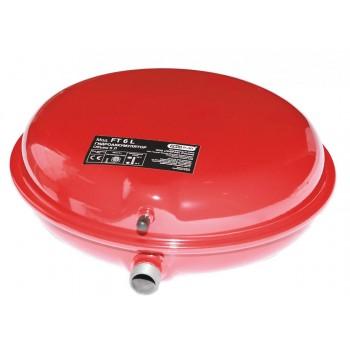 Бак расширительный (экспанзомат) FT6 для систем отопления (красный).