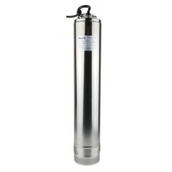 Насос погруж. скважинный Vodotok БЦПЭ-100-0,5-33м-НЗ нижний заборы воды (d-100мм, 370Вт, 55л/мин, Н max-43м, H nom-33м, кабель 30м)
