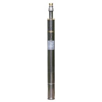 """Насос погруж. шнековый Vodotok НШ-50-0.25-55м, (d-51мм, 200Вт, 15л/мин, H-55м, d отв.1/2"""", кабель 20м, примеси до 1%)"""