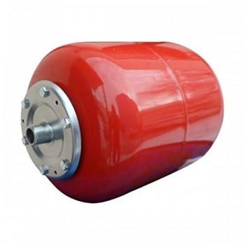 Бак расширительный (экспанзомат) БРОФ-24л-В для систем отопления (красный).