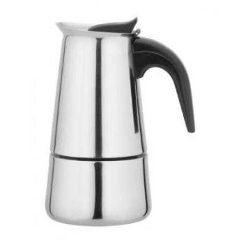 Кофеварка гейзерная Irit IRH-456 нержавеющая сталь 100мл