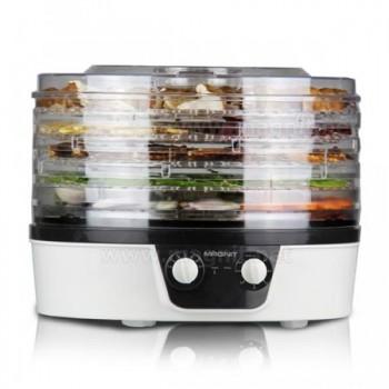 Сушилка для овощей и фруктов Magnit RDH-2402 (электросушилка 5 прозрачных поддонов) 450Вт, таймер