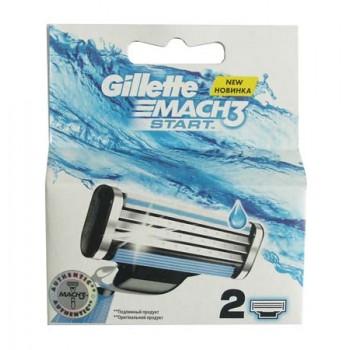 Gillette Mach3 Start сменные кассеты, 2шт