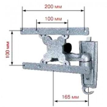 Кронштейн КРАСТ MS 3010 для ЖК или LCD-ТВ (серебро)