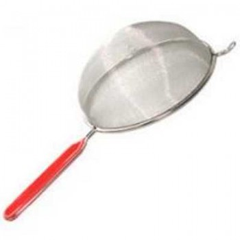 Сито-дуршлаг Mallony SDP-14 арт.985503 (нерж. сталь) диам.14см пластиковая ручка