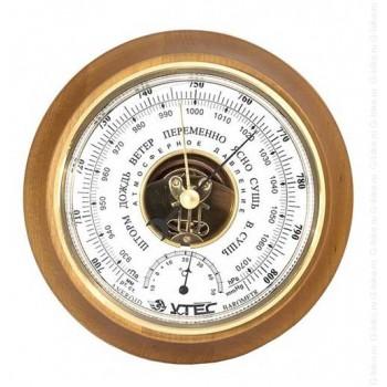 Барометр Утес БТК-СН-17 с термометром (корпус-дерево, диам.175/130мм, откр.механизм)