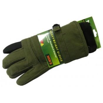 Перчатки для охоты № 10 (осень-зима) зеленые