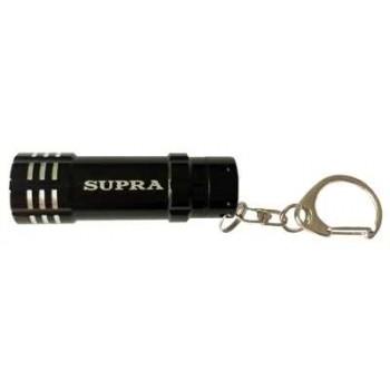 Фонарь брелок SUPRA (LED-3) SFL-BK-02 светодиодный (black)