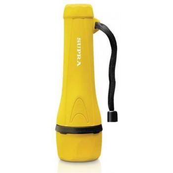 Фонарь ручной Supra LED-6 SFL-R-6L светодиодный резиновый yellow влагоустойчивый, водонепроницаемый