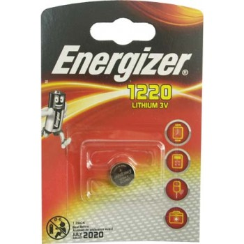 Батарейка Energizer (литиевая) CR1220-BL1/3V (1 шт. в уп.)