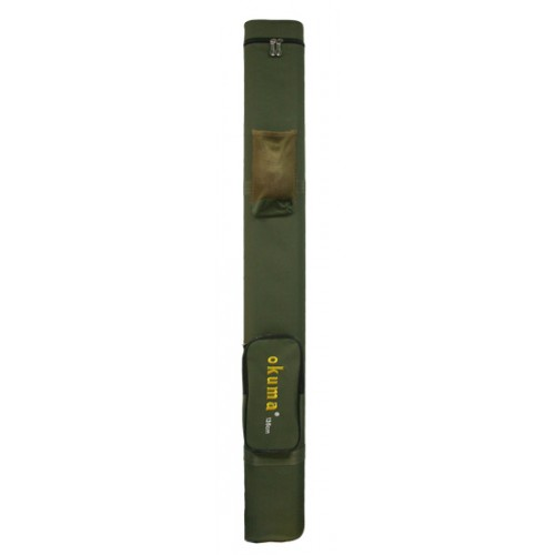 Чехол-футляр для удочек Okuma (жесткий) - 1.35м c карманом