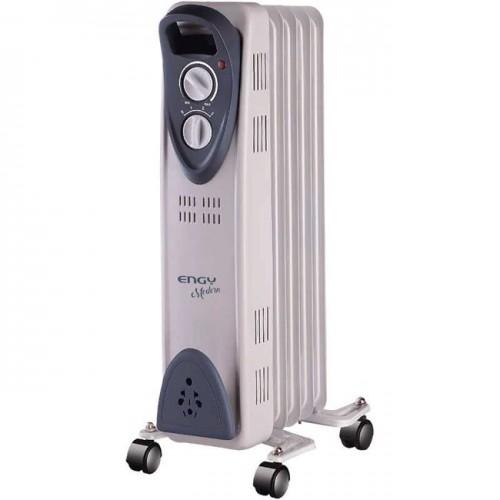 Масляный радиатор Engy EN-2205 Modern (5 секций 1000Вт) белый (015119)