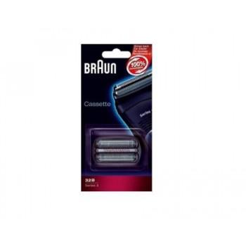 32B Бритвенная кассета Braun 3 серии (32B) тип 81387950 (5775761, 81253265)