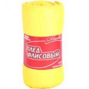 Плед флисовый Ninelle P-10 004110 (130х160см) Желтый