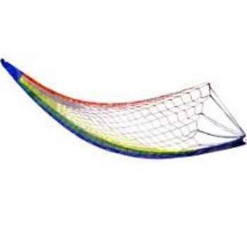 Гамак плетеный без планок Ecos Nham-03 (нейлон) размер 270см, макс. нагрузка 100кг (081581)