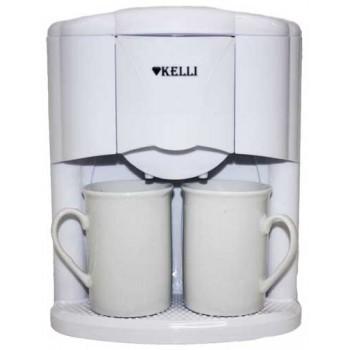 Кофеварка Kelli KL-1491 650Вт (2 чашки)