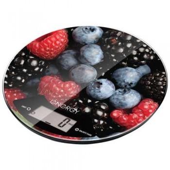 Energy EN-403 Электронные кухонные весы 5кг/1г (ягоды), форма-круг