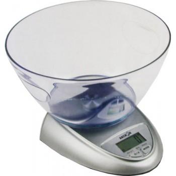 Весы кухонные электронные с чашей Аксион ВКЕ-21 до 5 кг
