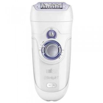 Braun SE 7921e Silk-epil 7 эпилятор аккумуляторный, 40 пинцетов + 1 насадка