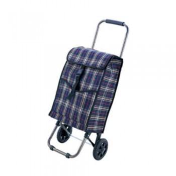 Сумка-тележка с сумкой Рыжий кот JX-D2 Клетка