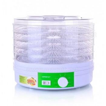 Сушилка для овощей и фруктов Magnit RDH-2420 (электросушилка 5 прозрачных поддонов) 300Вт