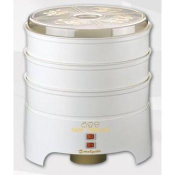 Электросушилка (сушилка) Molgato Здравушка (4 белых поддона) для овощей и фруктов