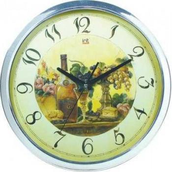 Часы настенные кварцевые Irit IR-618 Виноград диам.30см круглые
