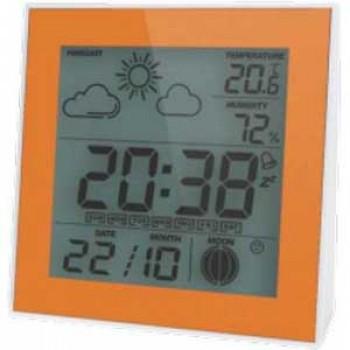 Метеостанция цифровая Стеклоприбор Т-06. Функции: термометр (температура внутри), гигрометр, часы, будильник, календарь