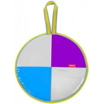 Ледянка мягкая круглая Л40Т (диаметр 40см, низ и верх-автотент, наполнитель-поролон)