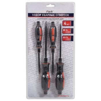 Набор отверток ударных с усилием под гаечный ключ OTN05NB Park 4 предмета (356205)