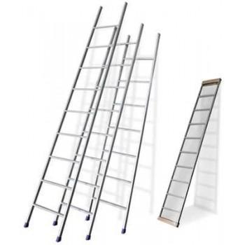 Лестница приставная 10 ступеней (длина 2.45м) металлическая