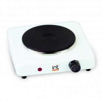 Электроплитка Irit IR-8004/8001 1-но конфорочная, закрытый тэн, белая