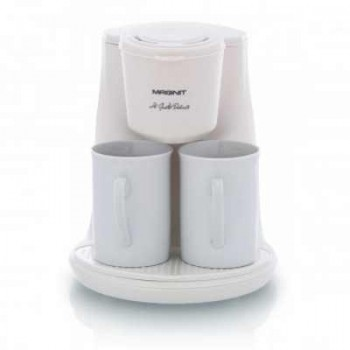 Кофеварка MAGNIT RMK-1991 (2 чашки) 450Вт, 0.24л