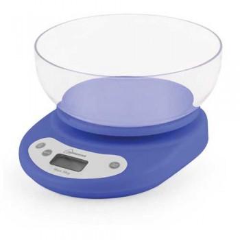 Весы кухонные электронные с чашей Homestar HS-3001 5 кг (голубые)